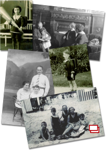 A dossier of images relating to pre-war Jewish life.