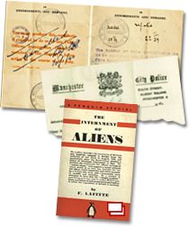 A dossier of images about Enemy Aliens.